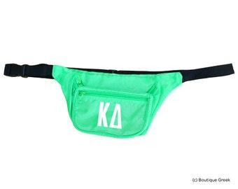 kd kappa delta letters fanny pack
