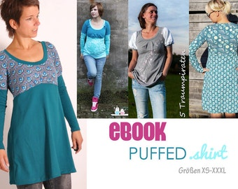 eBOOK #79 PUFFED.shirt sizes S-XXXL only in german language