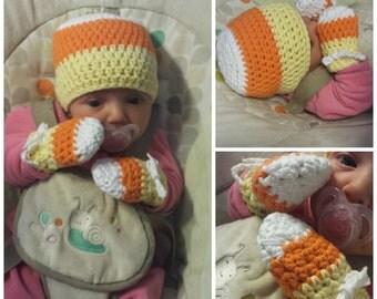 "Newborn ""Candy corn"" kit"