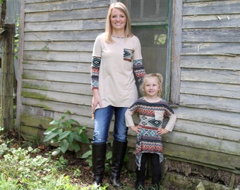 Mommy and Me Tunic Top