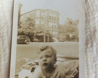 Old Photo of a Baby