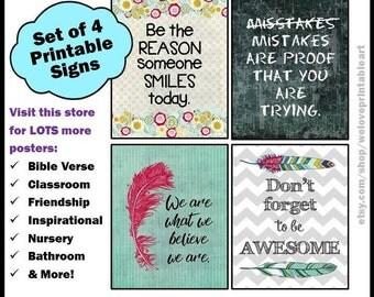 Teacher Classroom Decor, Motivational Quotes, Classroom Printables, Classroom Posters, Back to School, Decorations, Classroom Signs