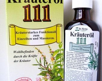 Herbal Oil 111