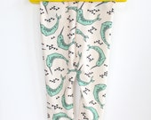 Baby and Toddler Leggings- Narwhal/Narwhal Leggings/Narwhale Leggings/Kids Narwhal Pants