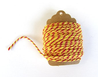 Baker's Twine - Red & Yellow 10 Meters