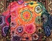 Tie Dye Large Unisex Longsleeve   #168
