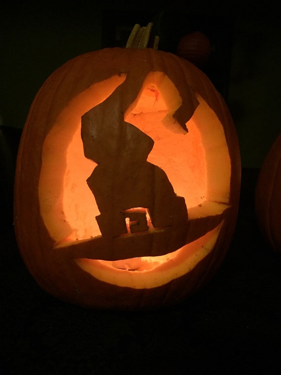 Beginner pumpkin carving patterns by sleepyhollowpumpkins