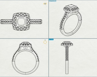 Bespoke Jewelry design, Custom Design, 3d Cad Design, Custom Made Design, Custom Made Jewelry, Custom Engagement Ring