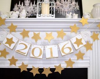 New Years Eve Decorations - New Years Eve Party Decorations - New Years Eve Party  Happy New Year Decoration, 2016 Banner,