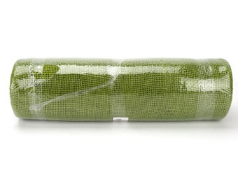 "Apple Green 14"" by 10 yards burlap roll for long banquet tables. Wedding events, Christmas, holidays 5 colors available(BRH14-60)"