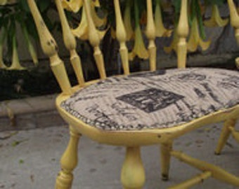 French Country Vintage Windsor Chairs