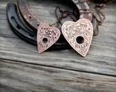 Hello/Goodbye Ouija Planchette Necklace