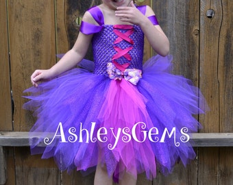 Rapunzel Dress, Rapunzel Costume, Rapunzel Tutu Dress, Rapunzel Tutu, Tangled Dress, Purple Princess Dress, Rapunzel Birthday, Princess Tutu