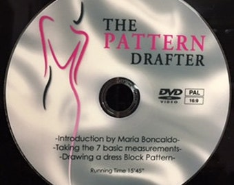 The Pattern Drafter DVD