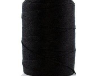 Silk Thread 1/2oz Spool Black Size FF (CD7019)