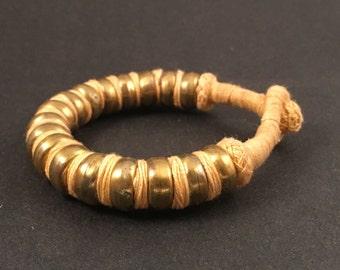 Bronze Tribal Snake Bracelet Handcrafted by Indian Artisans