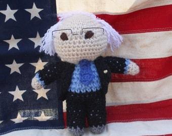 Crocheted Little Bernie