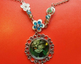 SALE The Legend of Zelda Necklace - Midna from Twilight Princess