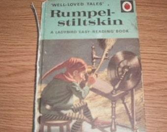 Vintage Ladybird Well Loved Tales book, Rumple-Stiltskin, series 606D
