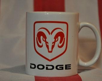 Dodge mug for american car fans