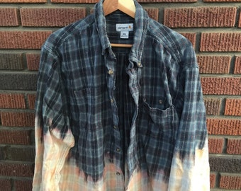 Revamped blue flannel