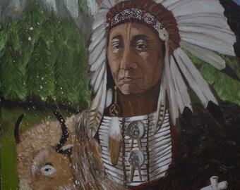 Red Cloud spirit