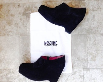MOSCHINO ankle boots-shoes # 40