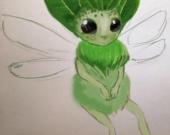 Green fairy for keksklauspeterkeks