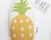 Illustrated Pineapple Organic Wheat Bag Heat Pack Cold Pack Made in Melbourne Australia