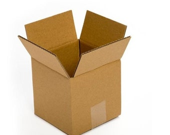 """5/10/25 Boxes 6""""x6""""x6"""" Cardboard Corrugated Shipping Boxes Wholesale supplies"""
