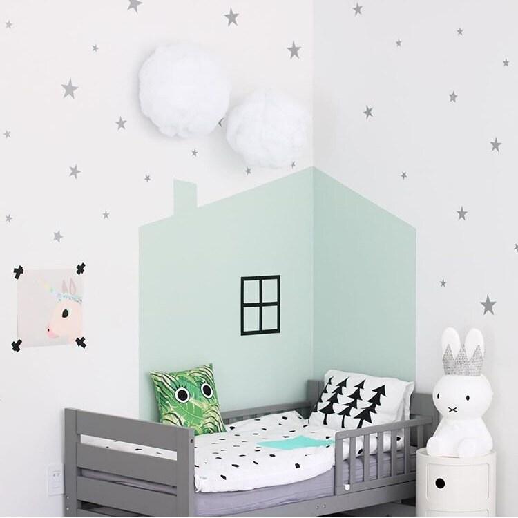 sterne aufkleber vinyl sterne aufkleber kinderzimmer. Black Bedroom Furniture Sets. Home Design Ideas