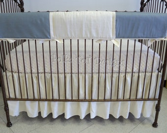 Bumper Free Neutral Baby Bedding: Dan