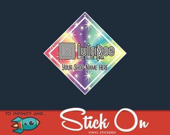 Custom LuLa Roe Car Sticker, Colorful LuLa Roe Decal For Any Surface, Custom LuLa Roe Decal