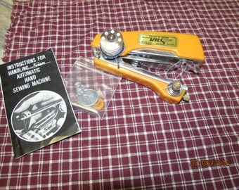 Vintage Sun Automatic  Hand Sewing Machine Kit Instructions