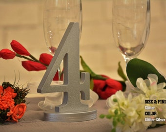 1-20 DIY Wood Table numbers, Table Numbers for Wedding, Wooden Table Numbers, Rustic Wedding, Gold Centerpiece