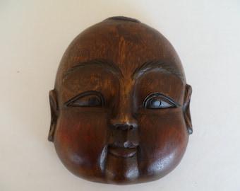 Souvenier Wood Face Mask Thailand