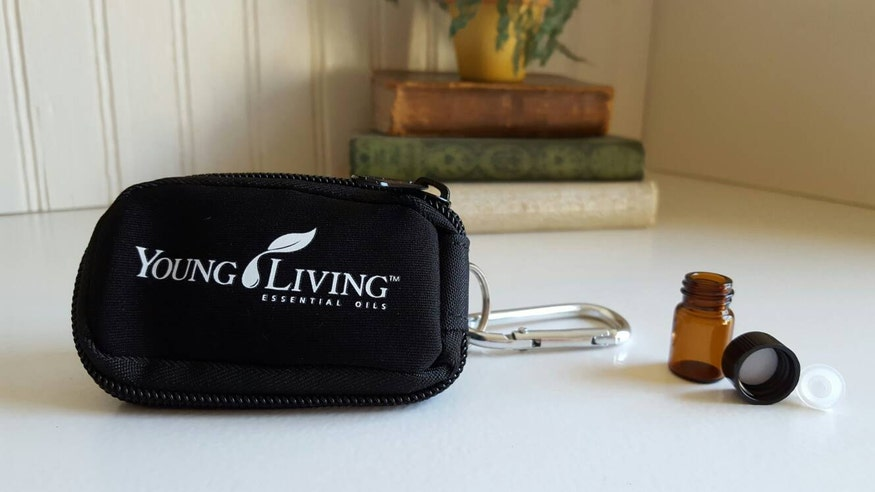 Young Living Keychain Carrying Case