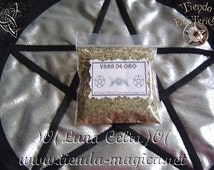 Bag gold goldenrod / attracts customers / attracts money