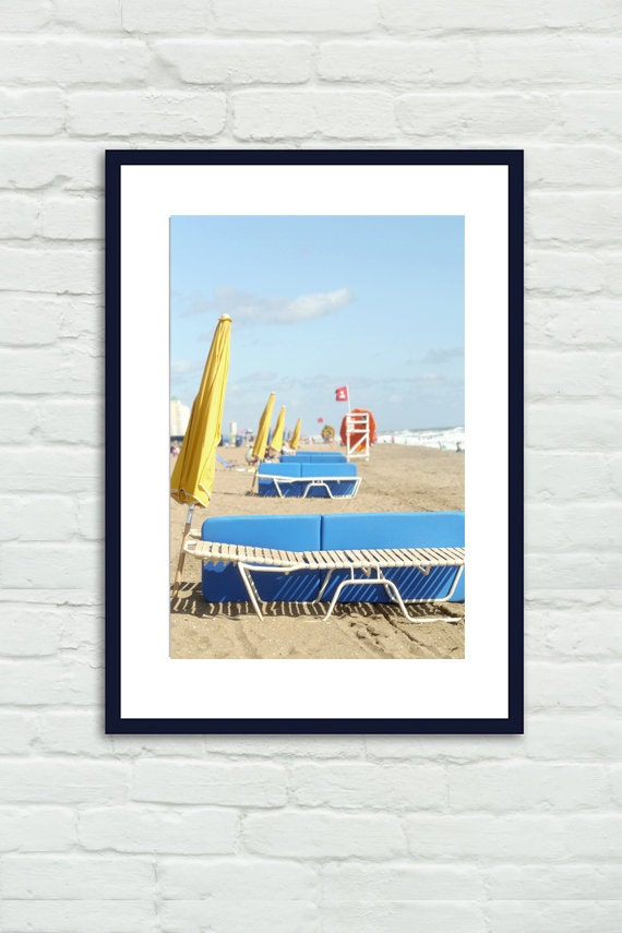 Coastal Wall Art Beach Photo Print Virginia Beach Scene