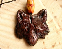 Sacred Wolf Pendant - The Leather Wolf
