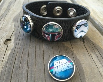 Star Wars Snap Jewelry Bracelet - includes the 4 snaps
