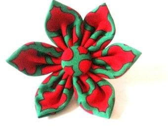 Christmas collar flower Dog collar flower