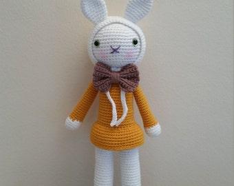 Hasenmädchen Josefine, sweet little bunny girl Josefine