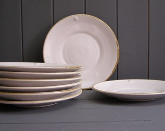 Medium plate- made to order-hand-thrown pottery