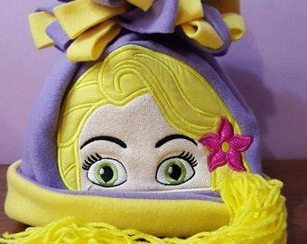 Rapunzel Fleece  Winter Character Hat Tangled