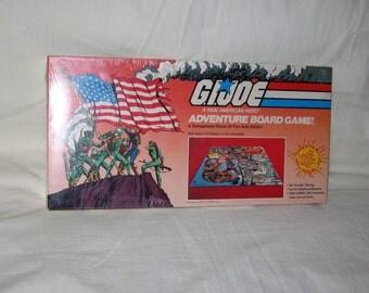 vintage 1982 hasbro g.i. joe arah adventure board game