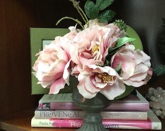 Floral Arrangement - Antique Rambling Rose in Urn