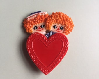 Raggedy Ann and Andy Pin