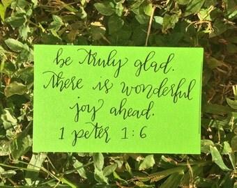 Pep Notes - Wonderful Joy