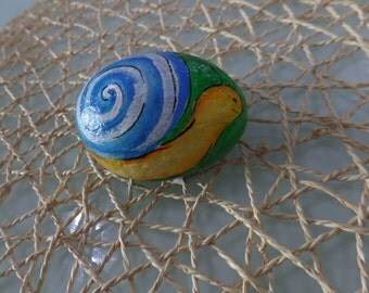 Stone decorated